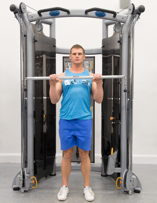 Cable Reverse Curl Compound Lifts